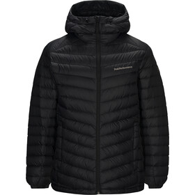 Peak Performance Frost Down Hood Jacket Herr black